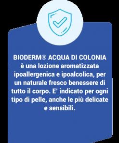 Bioderm Acqua Di Colonia – Lozione Aromatizzata Ipoallergenica e descrizione