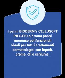 Bioderm Cellusoft Piegato a Z – Panni Monouso Polifunzionali descrizione
