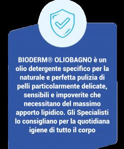 Bioderm Olio Bagno – Olio Detergente Dermoprotettivo descrizione