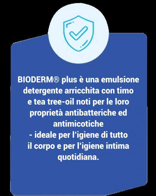 Bioderm Plus Timo – Emulsione Dermodetergente Anallergenico descrizione